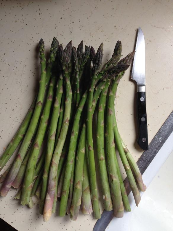 fresh loca asparagus